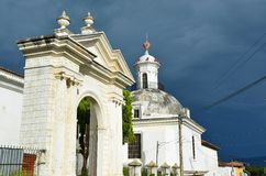 Suchitoto´s cathedral, El Salvador Royalty Free Stock Photography
