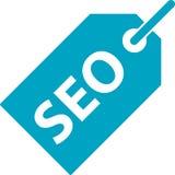 Suchmaschinen-Optimierungs-Tag-Ikone Lizenzfreie Abbildung