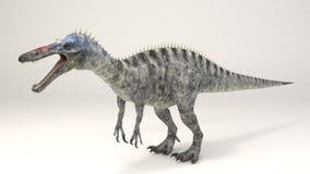 Suchomimus恐龙 库存图片