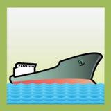 suchy ładunku statek Fotografia Stock