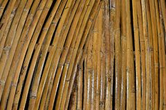 Suchy bambus jest rzemiosłem fotografia royalty free