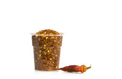 suchy chili pieprz Fotografia Royalty Free
