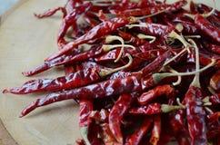 Suchy czerwony pieprz Fotografia Royalty Free