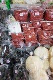 Suchy jedzenie dla sprzedaży przy rynkiem Zdjęcie Stock