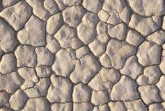 Suchy Jeziorny łóżko, Śmiertelna dolina, Kalifornia zdjęcia royalty free