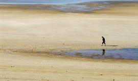 Suchy jezioro Zdjęcie Royalty Free