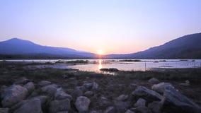 suchy jezioro zbiory wideo