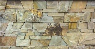 Suchy kamiennej ściany tekstury tło zdjęcie royalty free