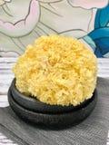 Suchy, odrewniały, pieczarka azjatykci jedzenie smażący ryżowi tradycyjni warzywa Chiny fotografia royalty free