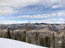 Suchy pasmo górskie Nad Kolorado obrazy stock