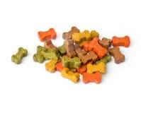 Psi jedzenie Obrazy Royalty Free