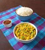 Suchy soczewica curry Obraz Royalty Free