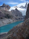 Sucia de Laguna dans des glaciares de visibilité directe de parc dans le patagonia Photos stock