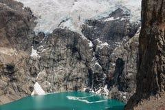 Sucia de Laguna en stationnement national de glaciares de visibilité directe images stock