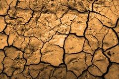 Suciedad secada sequía Imagen de archivo libre de regalías