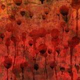 Sucio y oscuro sangrientos fotografía de archivo
