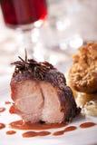 Suckling pork meal Stock Images
