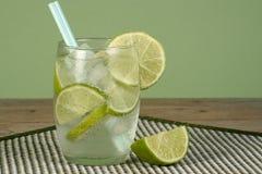 Suco congelado da limonada e da lima Foto de Stock