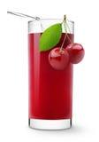 Suco da cereja Imagem de Stock
