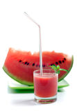 Suco da melancia Imagens de Stock