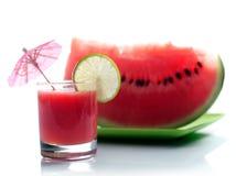Suco da melancia Fotografia de Stock