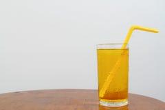 Suco da soda do abacaxi Imagem de Stock