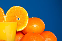 Suco da tangerina Imagens de Stock Royalty Free