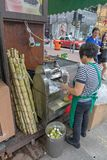 Suco de bambu imagem de stock royalty free