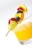 Suco de fruta Foto de Stock Royalty Free