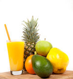Suco de fruta Imagens de Stock Royalty Free