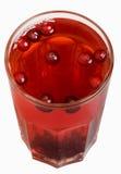 Suco de fruta da airela Fotografia de Stock Royalty Free