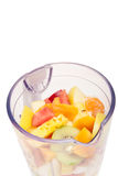 Suco de fruta de mistura Imagens de Stock Royalty Free