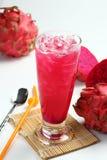 Suco de fruta do dragão Fotografia de Stock