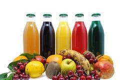 Suco de fruta dois Imagens de Stock