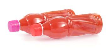 Suco de fruta engarrafado Fotografia de Stock Royalty Free