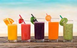 Suco de fruta fresca Foto de Stock Royalty Free