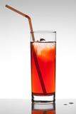 Suco de fruta vermelho Fotografia de Stock