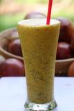 Suco de frutas da paixão Foto de Stock Royalty Free