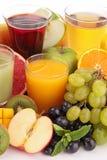 Suco de fruto foto de stock royalty free