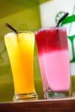 Suco de fruto Fotos de Stock