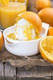 Suco de laranja Foto de Stock Royalty Free