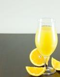 Suco de laranja Imagens de Stock