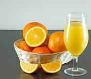 Suco de laranja Fotografia de Stock Royalty Free
