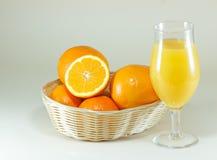 Suco de laranja Imagem de Stock Royalty Free