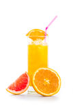 Suco de laranja Imagens de Stock Royalty Free