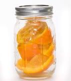Suco de laranja feito erradamente Foto de Stock
