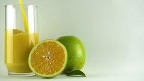 Suco de laranja natural Orange juice stock video footage