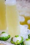 Suco de limão Fotos de Stock Royalty Free