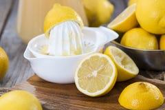 Suco de limão caseiro imagens de stock royalty free