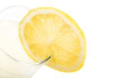 Suco de limão fresco e real Fotografia de Stock